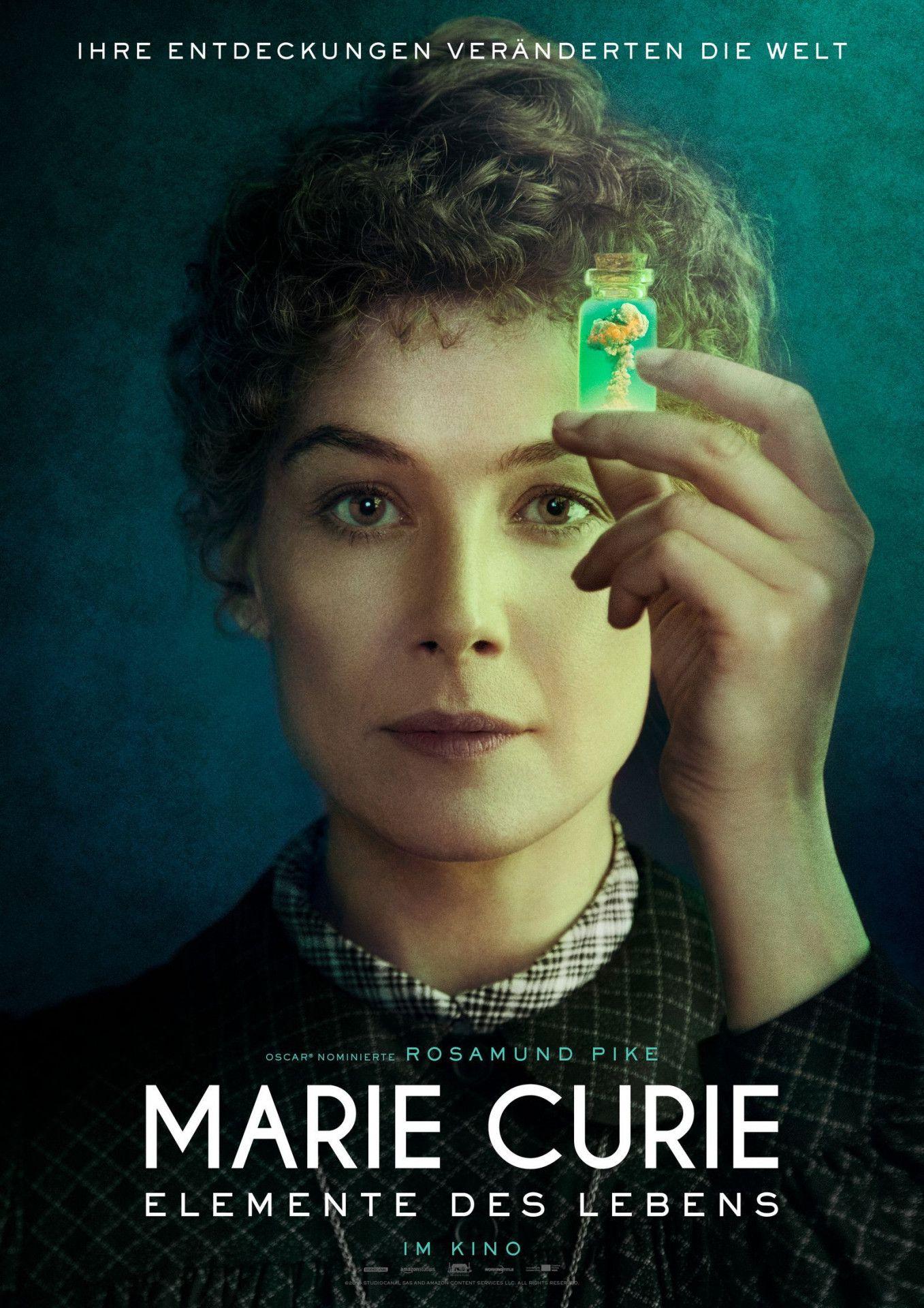 """Das Biopic """"Marie Curie - Elemente des Lebens"""" schildert Liebe und Forschung der Nobelpreisträger Marie und Pierre Curie. Ihre Entdeckung der Radioaktivität hat die Medizin revolutioniert - aber auch die Atombombe hervorgebracht."""