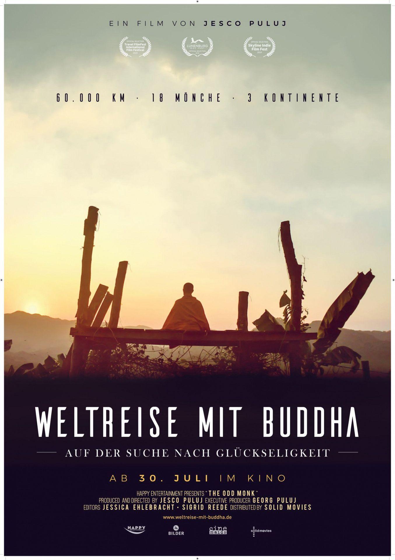 """""""Weltreise mit Buddha"""" macht sich auf die Suche nach dem Wesen des Buddhismus."""