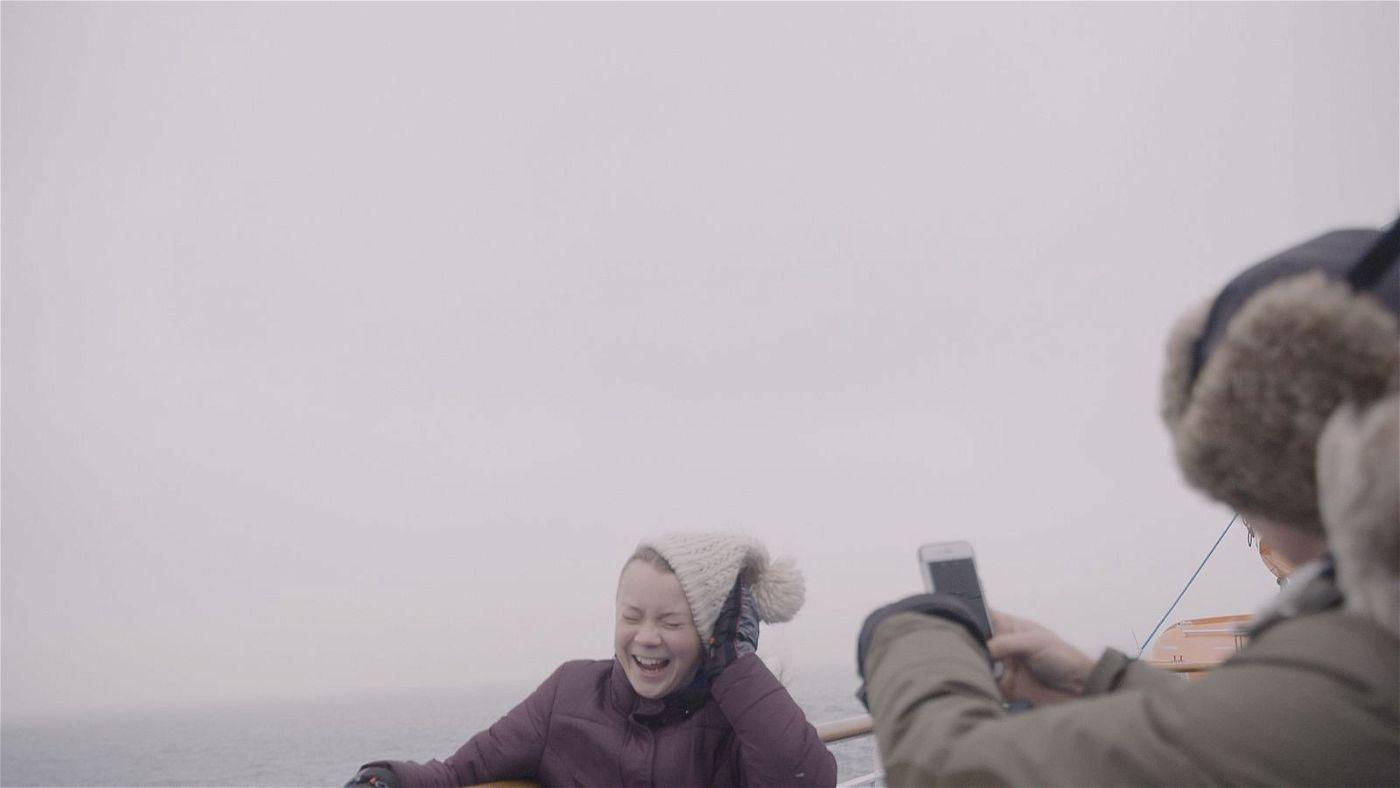 Filmemacher Nathan Grossman hat Greta Thunberg auch bei ihrer Atlantiküberquerung begleitet.