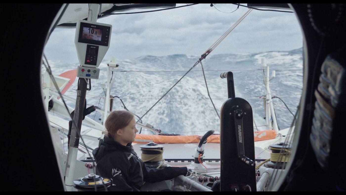 Im Herbst 2019 machte sich Greta Thunberg auf den Weg nach New York - in einem Segelboot.