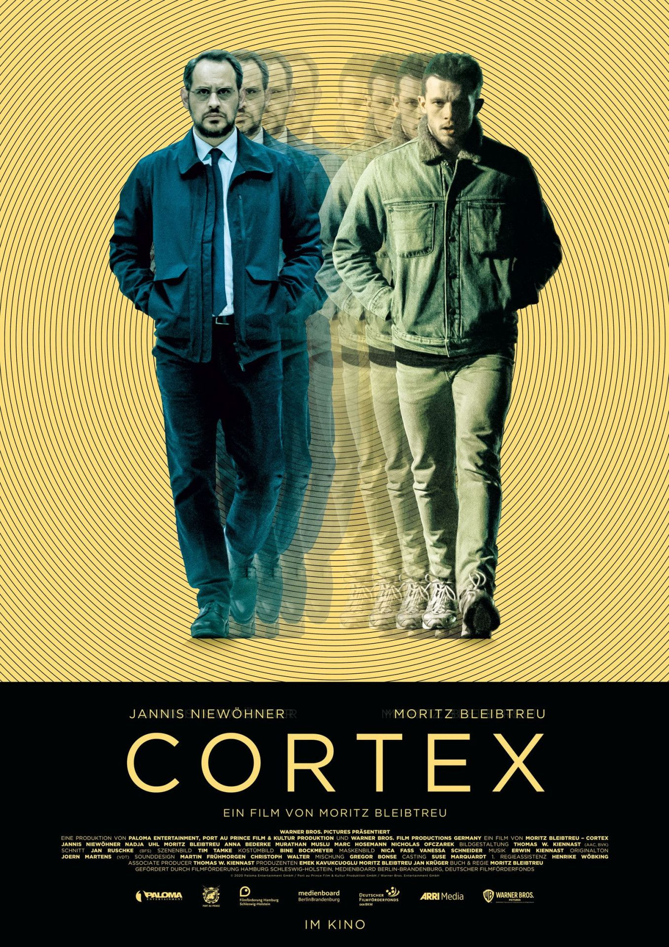 """Moritz Bleibtreus Regiedebüt """"Cortex"""" kommt ambitioniert daher. Der bewusst verwirrende, anspruchsvolle Psychothriller lässt die Grenzen zwischen Traum und Wirklichkeit und das Leben zweier Männer verschmelzen."""