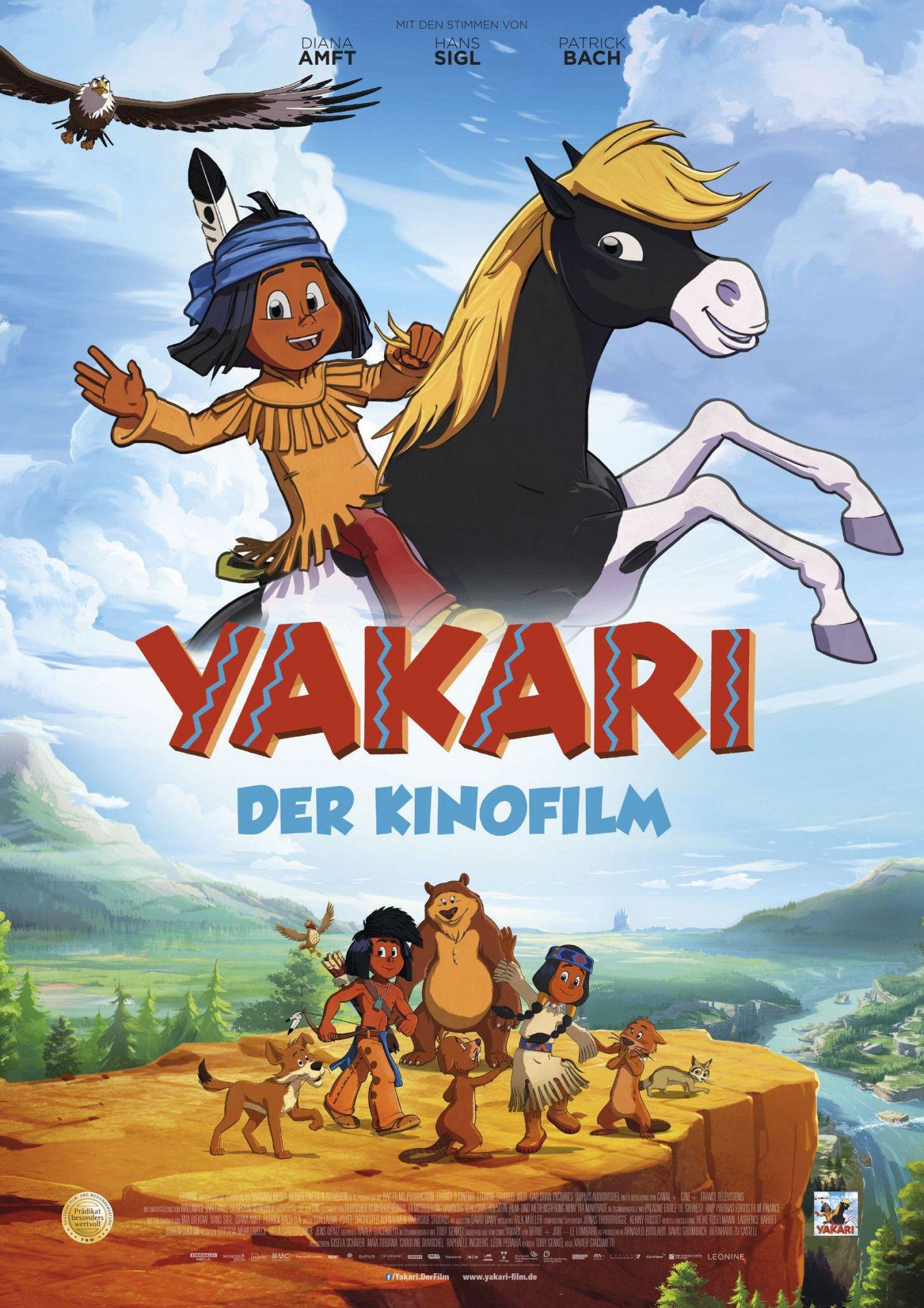 """Der Held der Kinderzimmer erobert die große Leinwand: """"Yakari - Der Kinofilm""""."""